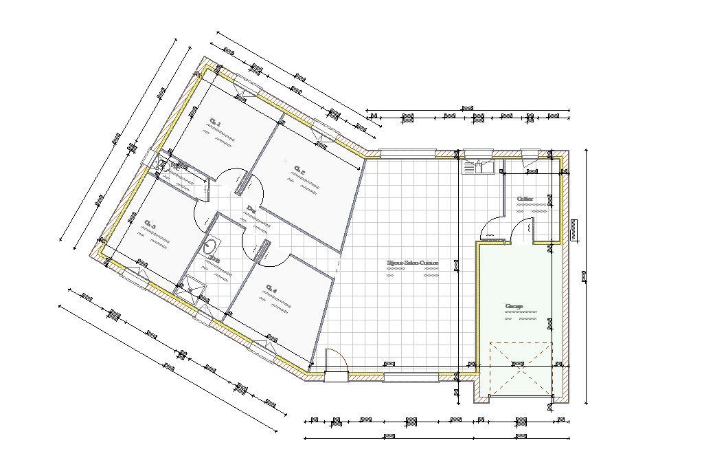 Plan de maisons modèle Chailles